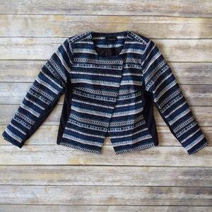 Lane Bryant geometric jacket